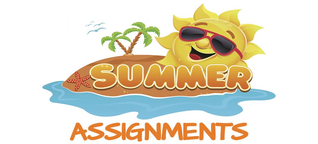 Summer Assignements