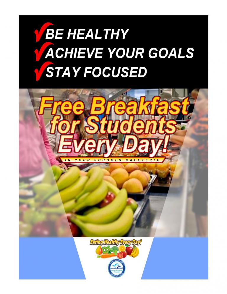 2018-2019 M-DCPS Breakfast Flyer