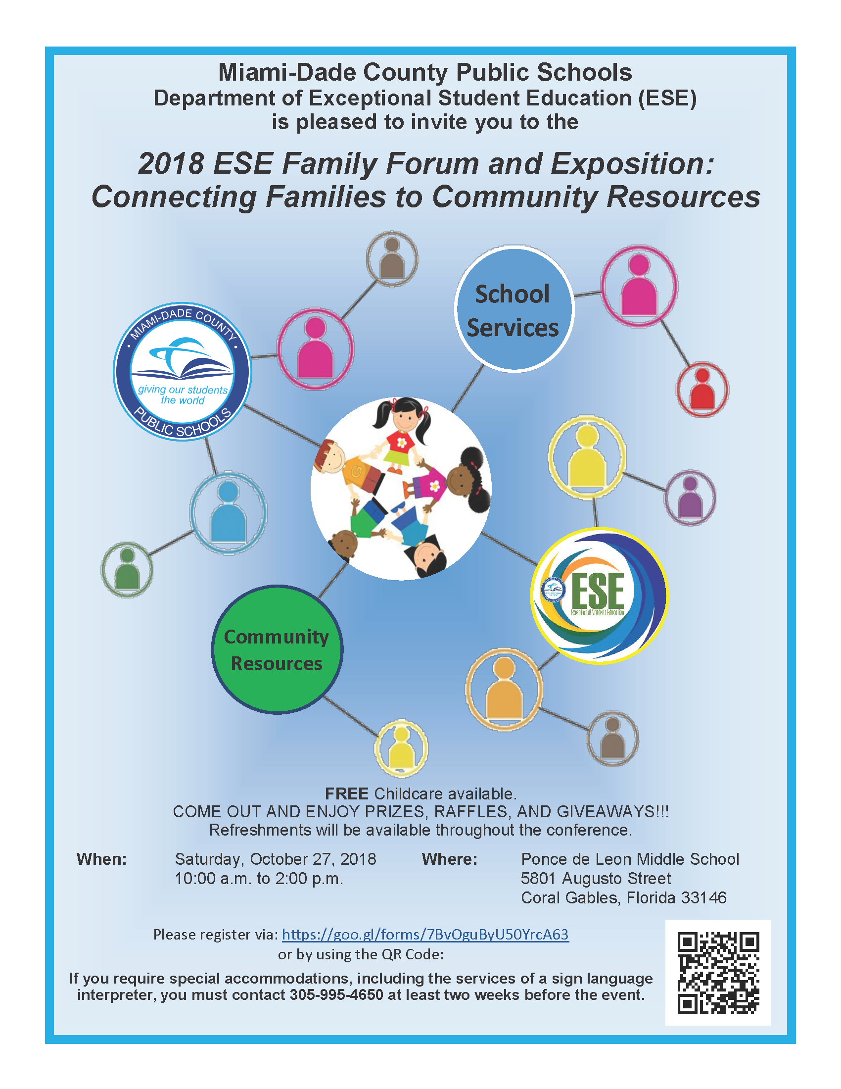 2018 ESE Family Forum and Exposition