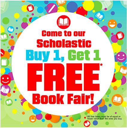 Buy 1 Get 1 Book Fair