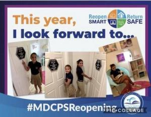 MDCPS Reopening Signs