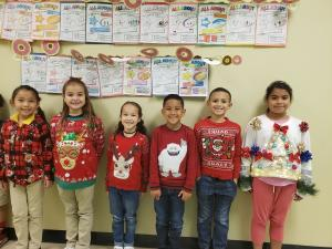 PTA Ugly Holiday Sweater/Shirt Day