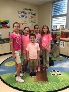 United Way Pink T-Shirt Day