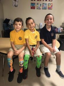 United Way Crazy Sock Day