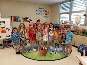 United Way Hawaiian Day